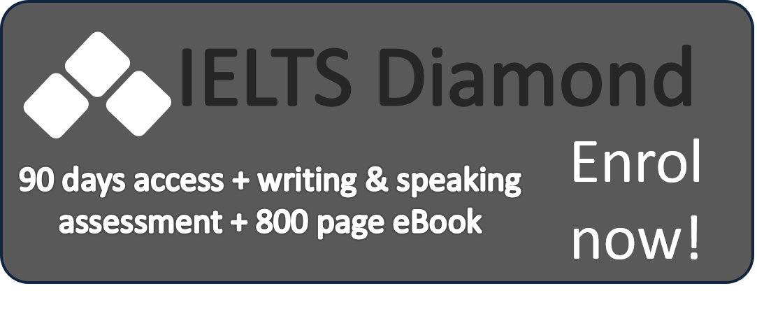 Diamond Plan online IELTS course
