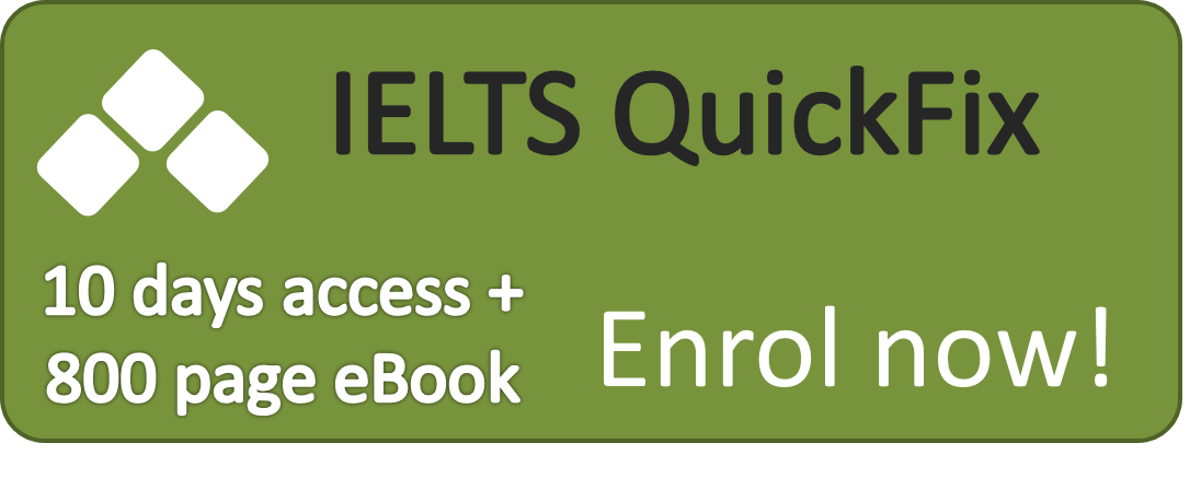 QuickFix Plan online IELTS course
