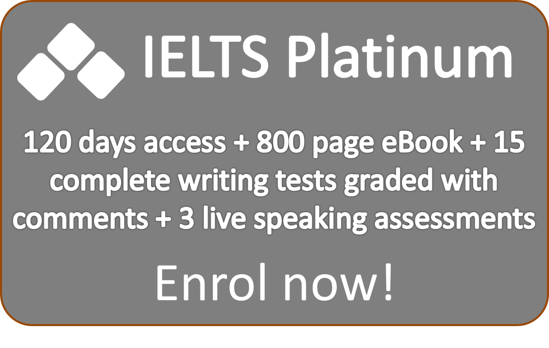 Platinum Plan online IELTS course