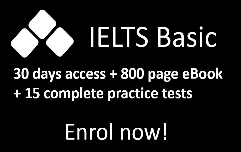Basic Plan online IELTS course