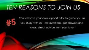 5: Your own support tutor as you study